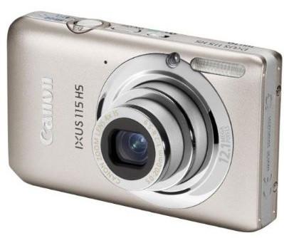 Canon IXUS 115 HS plata
