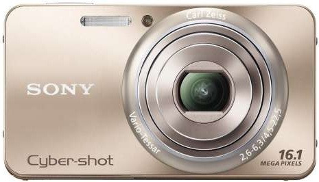 Sony DSC-W570 oro