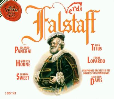 Colin Davis - Falstaff, Gesamtaufnahme (italienisch )