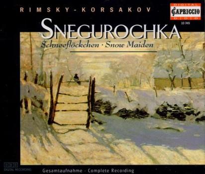 Stoyan Angelov (Dirigent) - Rimsky-Korsakov: Snegurochka (Schneeflöckchen / Snow Maiden) - Opern-Gesamtaufnahme (3 CD)