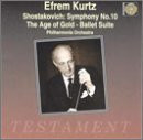 Efrem Kurtz - Sinfonie 10 / das Goldene Zeitalter