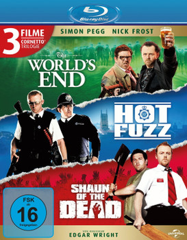 Cornetto Trilogy [3 Discs]