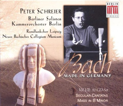 P. Schreier - Bach - Made in Germany Vol. VII (Peter Schreier-Box)