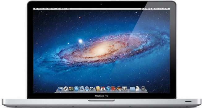 Apple MacBook Pro 15.4 (glanzend) 2 GHz Intel Core i7 4 GB RAM 500 GB HDD (5400 U/Min.) [Early 2011, QWERTY-toetsenbord]