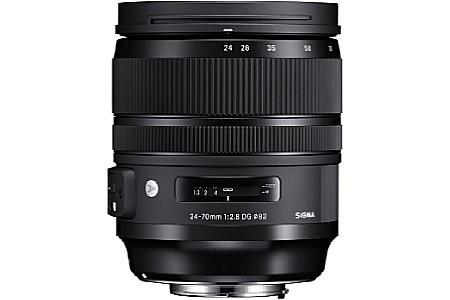 Sigma A 24-70 mm F2.8 DG HSM OS 82 mm Objectif (adapté à Nikon F) noir