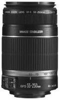 Canon EF-S 55-250 mm F4.0-5.6 IS 58 mm filter (geschikt voor Canon EF-S) zwart