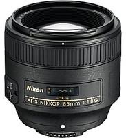Nikon AF-S NIKKOR 85 mm F1.8 G 67 mm Objetivo (Montura Nikon F) negro