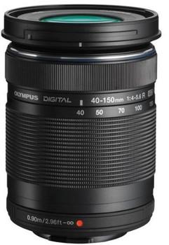 Olympus M.Zuiko Digital 40-150 mm F4.0-5.6 ED R 58 mm filter (geschikt voor Micro Four Thirds) zwart
