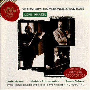 Various - Maazel Concertos - Works for Violin, Violoncello and Flute