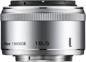 Nikon 1 NIKKOR 18,5 mm F1.8 40,5 mm filter (geschikt voor Nikon 1) zilver