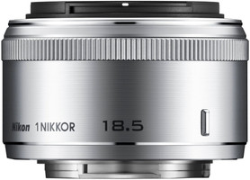 Nikon 1 NIKKOR 18,5 mm F1.8 40,5 mm Objectif (adapté à Nikon 1) argent