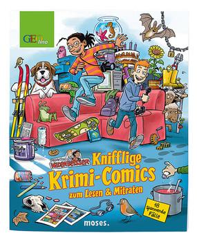 Redaktion Wadenbeißer: Knifflige Krimi-Comics zum Lesen & Mitraten - Ina Rometsch