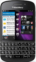 Blackberry Q10 16GB [Teclado inglés, QWERTY] negro