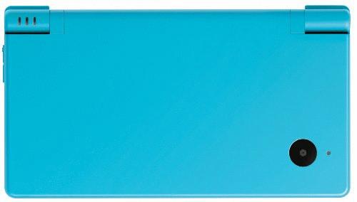 Nintendo DSi lichtblauw
