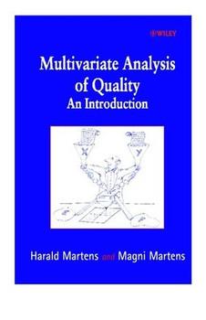Multivariate Analysis of Quality. An Introduction - Magni Martens [Gebundene Ausgabe]