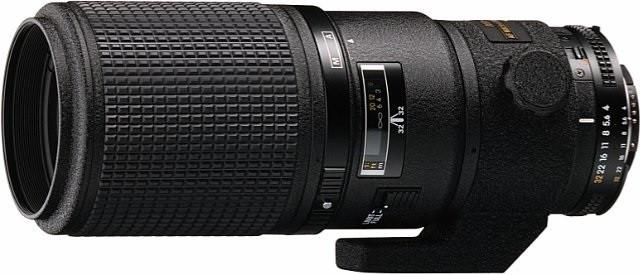 Nikon AF NIKKOR 200 mm F4.0 D ED IF 62 mm filter (geschikt voor Nikon F) zwart