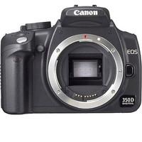 Canon EOS 350D Cuerpo negro