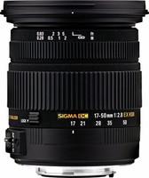 Sigma 17-50 mm F2.8 DC EX HSM OS 77 mm Objetivo (Montura Nikon F) negro