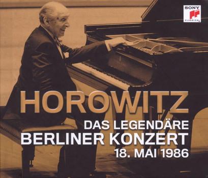 Vladimir Horowitz - Das legendäre Berliner Konzert 18. Mai 1986 - 2 CD/Buch ohne Moderation limitierte Erstauflage