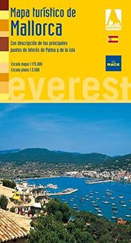 Mapa Turístico de Mallorca. Con descripción de los principales puntos de interés de Palma y de la isla (Mapas turísticos/ serie amarilla) - Cartografía Everest