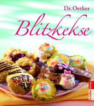 Blitzkekse - im Set mit drei tollen Zucker-Dekors - Dr. Oetker