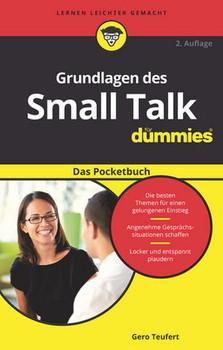 Grundlagen des Small Talk für Dummies Das Pocketbuch - Gero Teufert  [Taschenbuch]