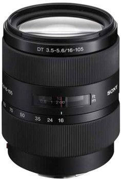 Sony 16-105 mm F3.5-5.6 DT 62 mm Obiettivo (compatible con Sony A-mount) nero
