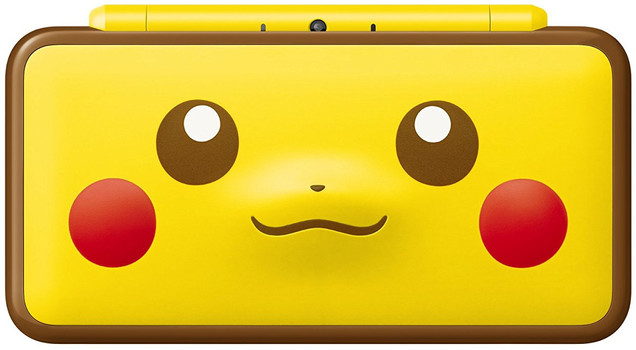 New Nintendo 2DS XL [Pikachu Edition] geel