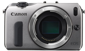 Canon EOS M Systeemcamera zilver