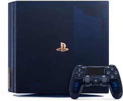 Sony Playstation 4 pro 2 TB [500 Million Limited Edition incl. draadloze controller] blauw