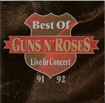 Guns n' Roses - Best of-Live in concert 91/92