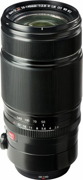 Fujifilm XF 50-140 mm F2.8 LM OIS R WR 72 mm filter (geschikt voor Fujifilm X) zwart