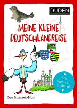 Duden Minis (Band 20) - Meine kleine Deutschlandreise - Annette Weber  [Taschenbuch]