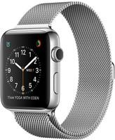 Apple Watch Series 2 42 mm - Boîtier acier inoxydable argent et bracelet en maille Milanaise argent [Wi-Fi]