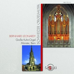 Bernhard Leonardy - Swiss Organ Composers