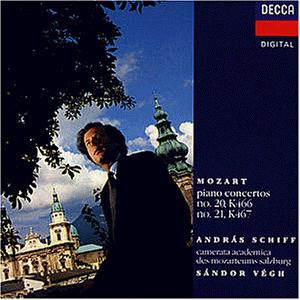 Andras Schiff - Klavierkonzerte 20 und 21