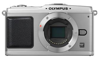 Olympus E-P1 Cuerpo plata