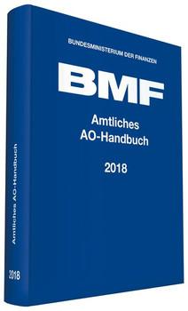 Amtliches AO-Handbuch 2018 [Gebundene Ausgabe]