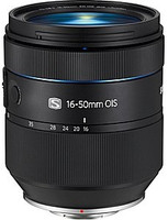 Samsung NX 16-50 mm F2.0-2.8 ED OIS S 72 mm Objetivo (Montura Samsung NX) negro