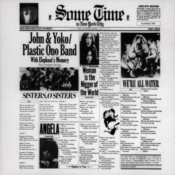 John Lennon (& Yoko Ono) - Some Time In New York City
