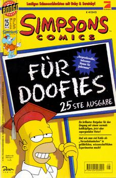 Simpsons Comics: #25 [Broschiert]