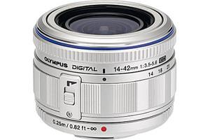 Olympus M.Zuiko Digital 14-42 mm F3.5-5.6 ED 40,5 mm filter (geschikt voor Micro Four Thirds) zilver