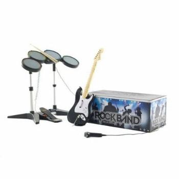 Pack Rock Band [senza gioco - con Chitarra, batteria, microfono e cavo USB]