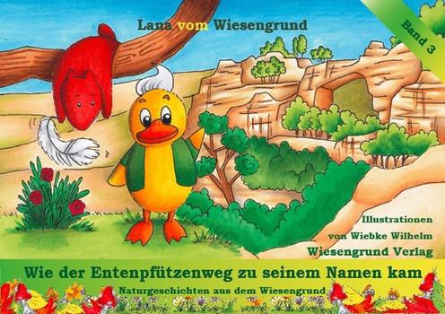 """Wie der Entenpfützenweg zu seinem Namen kam. Band 3 aus der Reihe """"Naturgeschichten aus dem Wiesengrund"""" - Lana vom Wiesengrund  [Gebundene Ausgabe]"""
