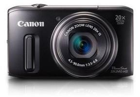 Canon PowerShot SX240 HS negro